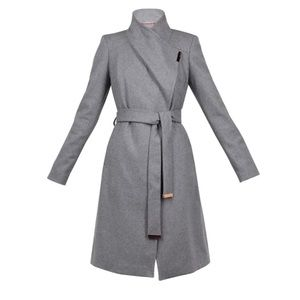 Ted Baker Wool Cashmere Wrap Coat